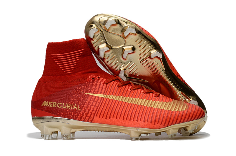 16939d24d23 Cheap 20nike 20mercurial 20superfly 20v 20cr7 20fg 20champions 20gold 20red  932 original