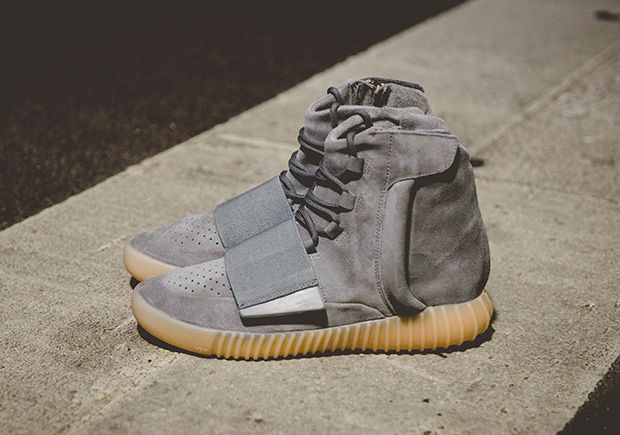 b13281615c7 ADIDAS YEEZY 750 BOOST Color  Light Grey Light Grey Gum Style Code ...