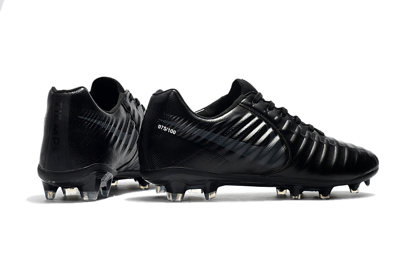 official photos 29a1e 7d6ea Nike Flyknit Tiempo Legend VII FG All Black sold by cleatssale4A