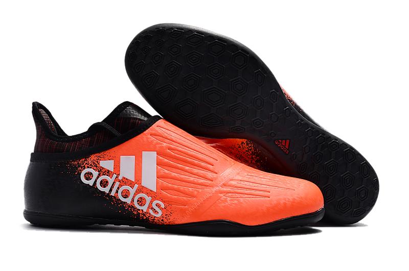 Cheap adidas X Tango 16+ Purechaos IC Orange White BLACK