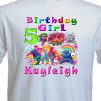 842aecab Envy This Collect. PERSONALIZED TROLLS BIRTHDAY SHIRT ADD NAME & AGE FOR  FAMILY