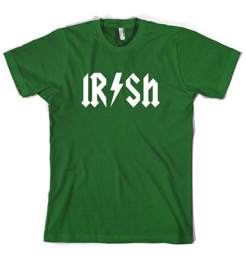 Irish Rockstar t shirt funny t shirt on Storenvy