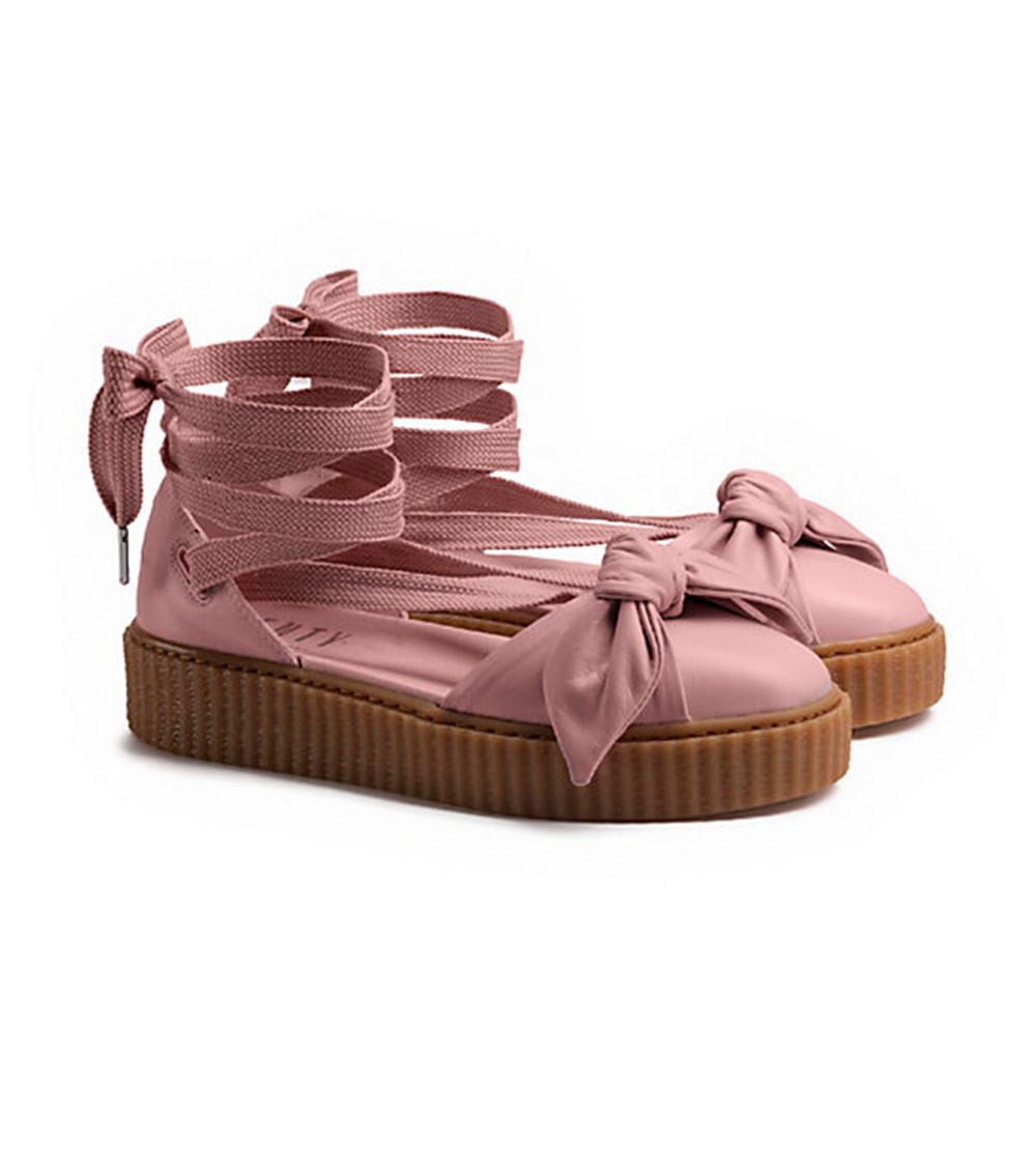 buy popular e877e 9545f Puma x Fenty by Rihanna: Creeper Bow Sandals from Stush Fashionista