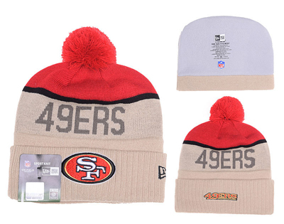 82e136177 San 20francisco 2049ers 20new 20era 202015 20nfl 20sideline 20sport 20knit  20hat 945 original