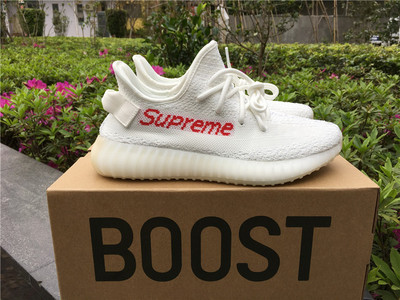 save off f6a3b 38724 Fashion Adidas Yeezy Boost 350 V2 Supreme shoes from superstar
