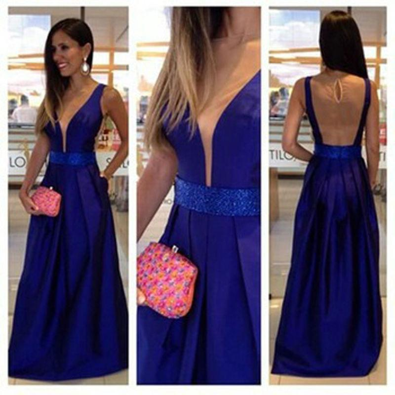 d460e597a21 Fashion Sex Long Prom Dress