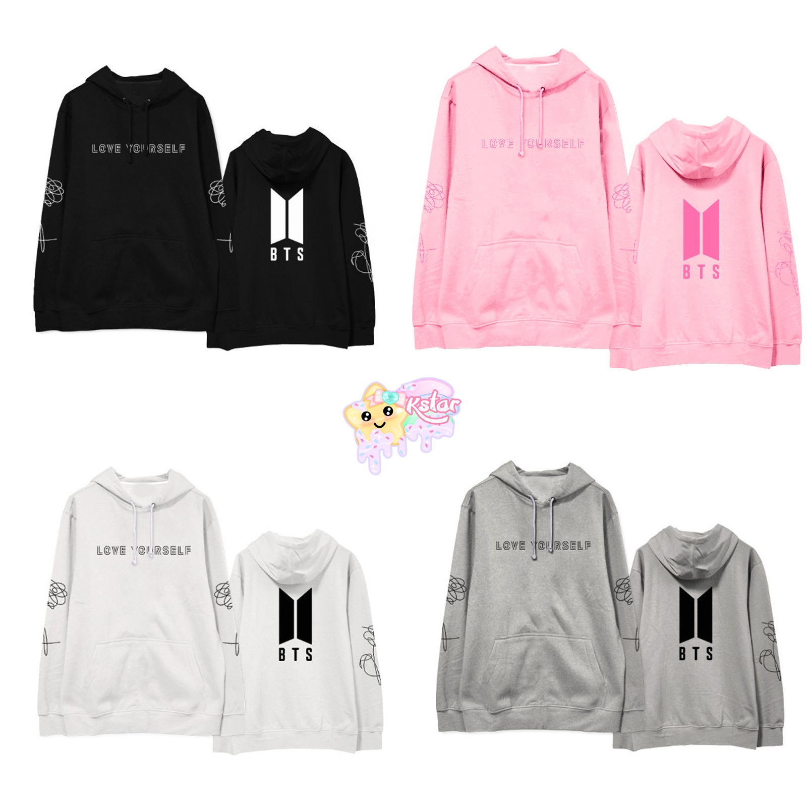 BTS Love Yourself Shirt/Hoodie from K-STAR