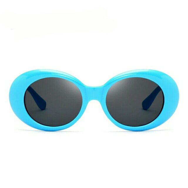 4ba574799f4b5 2017 New Classic Vintage Kurt Cobain Sunglasses Men and Women Retro Oval  Sun glasses Fashion ...