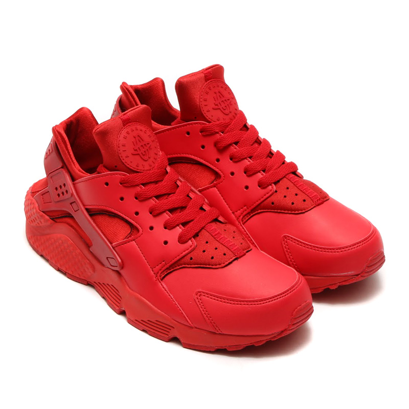 231fd29a3592 All Red Custom Nike Air Huaraches · SneakerSuperShop · Online Store ...
