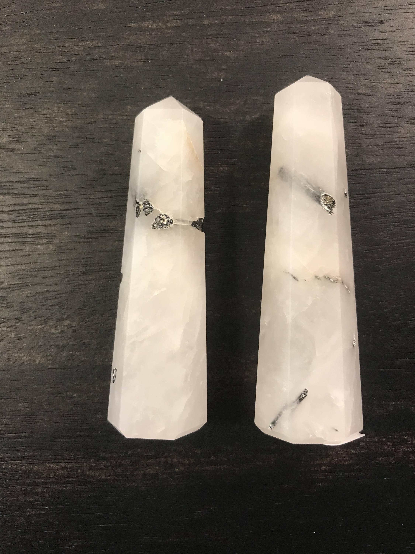 Rutilated Quartz Point healing crystal wand Meditation Stone root  chakra Quartz point crown chakra stones chakra balancing Quartz po sold by
