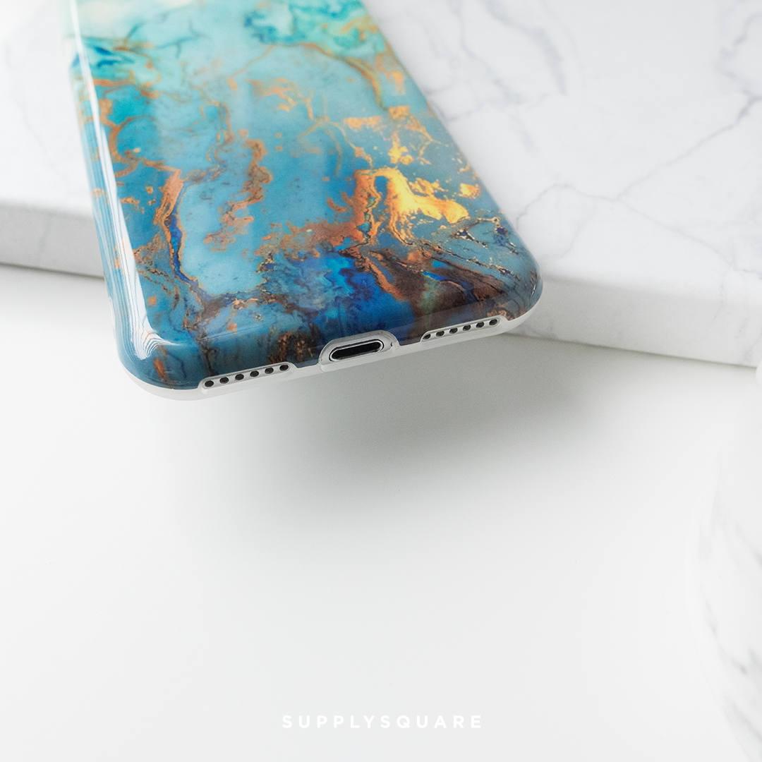 aqua iphone 7 case