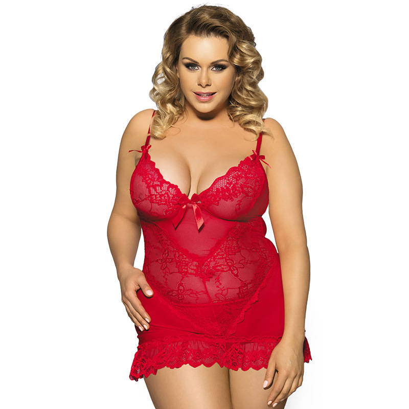 3e9a519a30 Sexy lingerie women romantic 5xl plus size women lingerie with Dress G  string new lace hot erotic lingerie SY293B on Storenvy