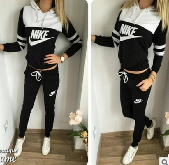 super popular 4ff9f 8c6c9 O nike women s sportsuits 2pieces jogging suit tracksuits a08a2 small