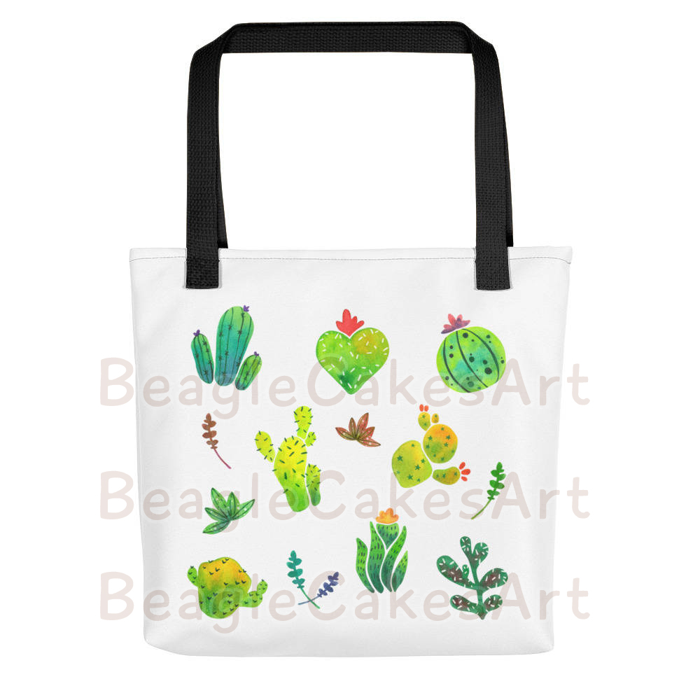 limpid in sight clearance prices delicate colors Cactus Tote Bag, Nature Inspired Tote, Beach Tote, School Tote, Gorcery  Tote, Travel Tote, Kawaii Tote Bag, Reusable Bag, Flower Print Bag from ...
