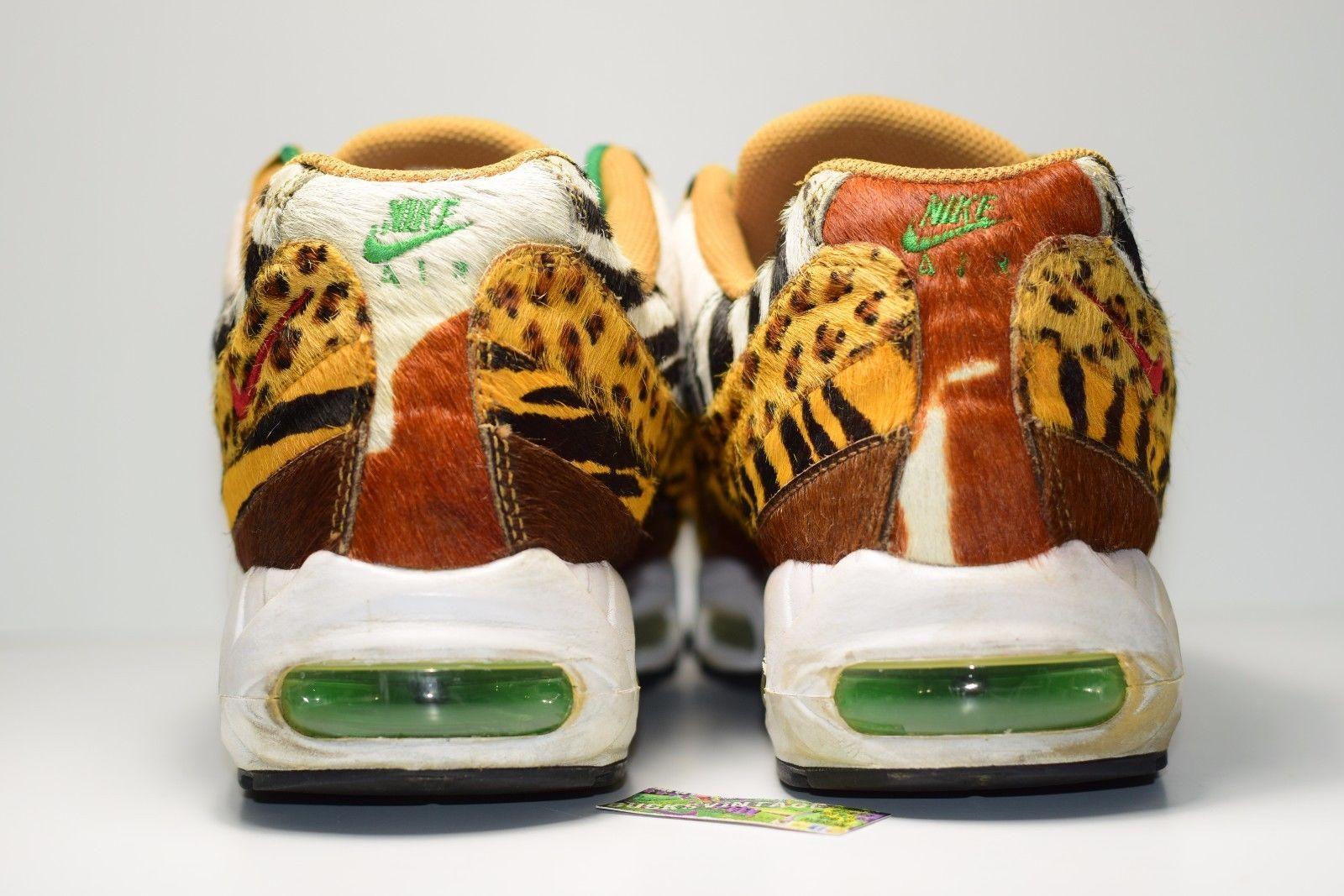33bdffa78a ... Size 12 | 2007 Nike Air Max 95 ATMOS SAFARI Animal Pack Pony Cheetah  Hair 314993 ...