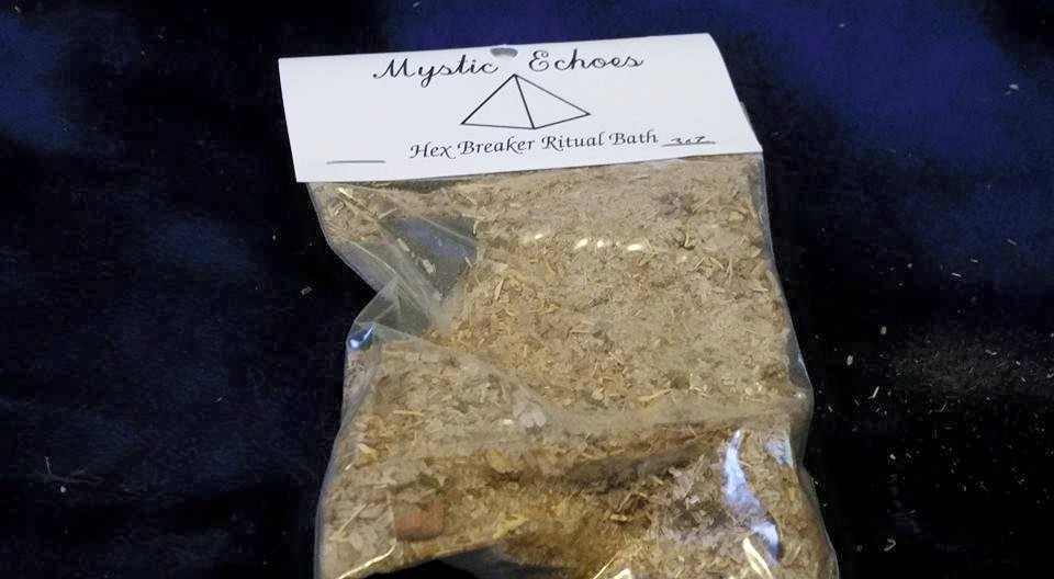 Hex Breaker Ritual Bath sold by Mystic Echoes on Storenvy