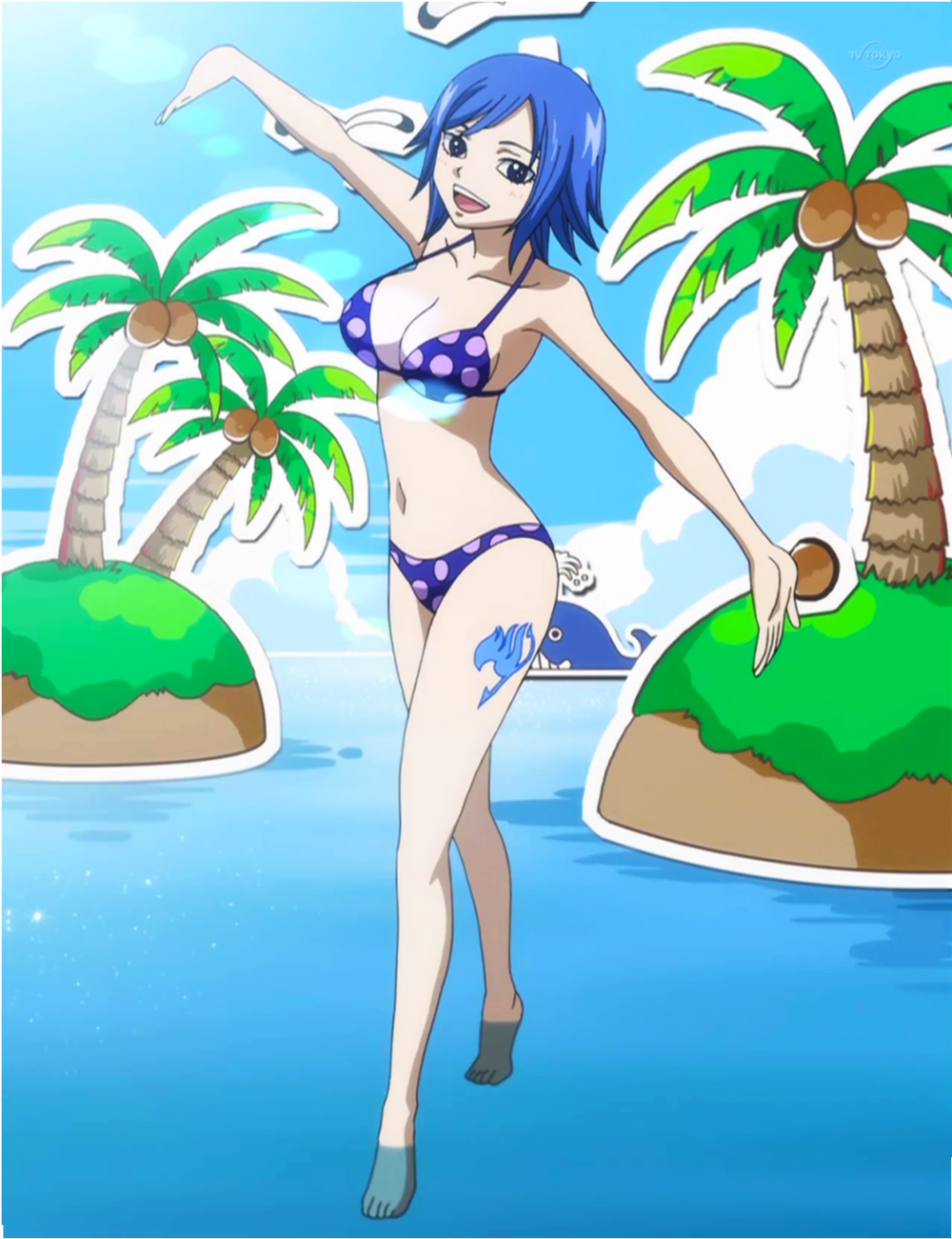 Fairy Tail Swimsuit Competition