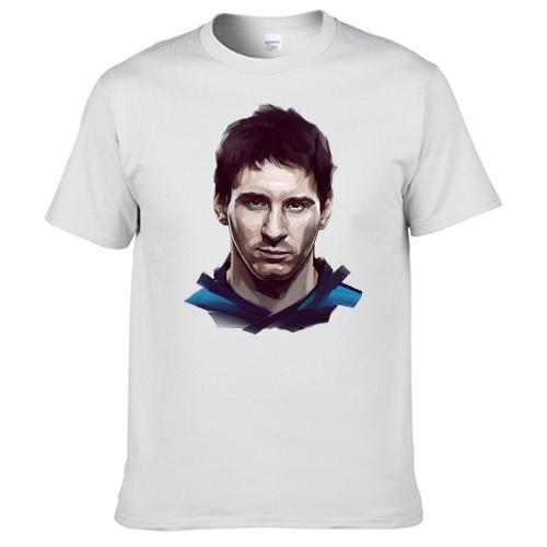 867ebfb70d8 FC Barcelona Lionel Messi T Shirt White 2030153 on Storenvy