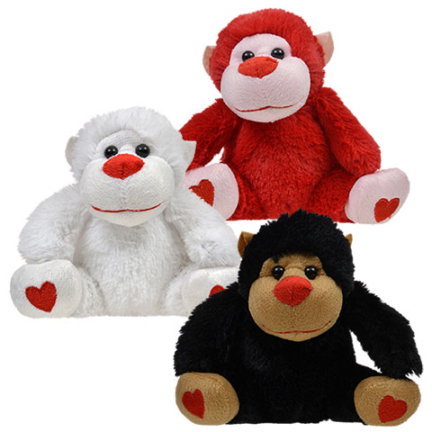 Personalized Valentines Day Plush Gorilla On Storenvy