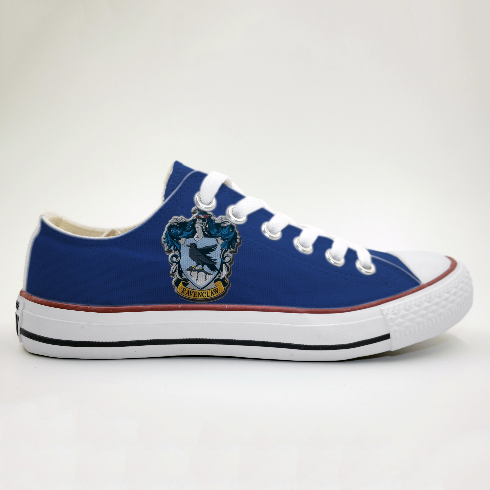 57f6b2f3c611 NEW Harry Potter Ravenclaw Hogwarts Custom Shoes Gryffindor Slytherin  Hufflepuff gift for him gift for her ...