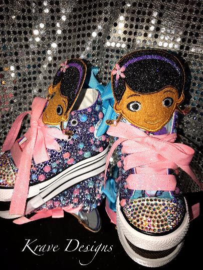 98fcec1e8b54 Youth Toddler Bling Doc McStuffins Character Shoes on Storenvy