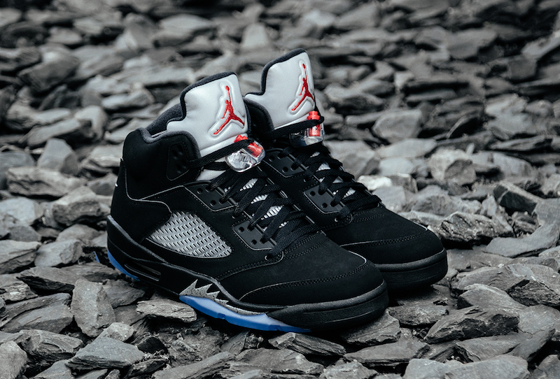 "pretty nice a8c4e 50164 Nike Air Jordan 5 OG Retro ""Black Metallic"" Shoes On Sale on Storenvy"