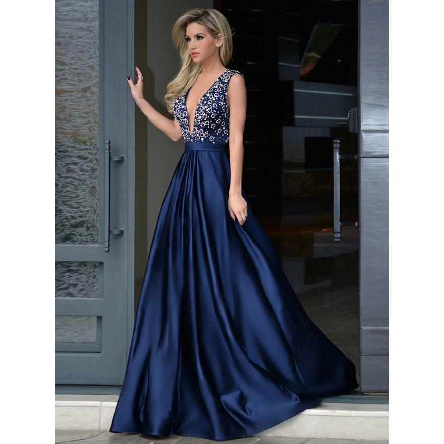 bf5773fdcfa A-Line Prom Dress