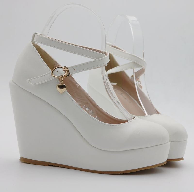 5c030826dcb sz 4 to 8.5 black white round toe kawaii cross strap mary jane ...