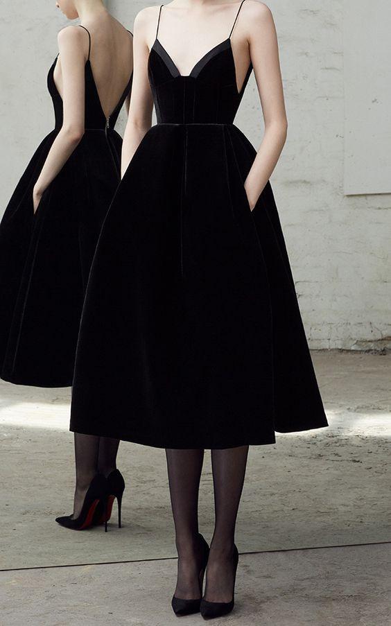 9341fa4d77f sexy black spaghetti straps homecoming dress