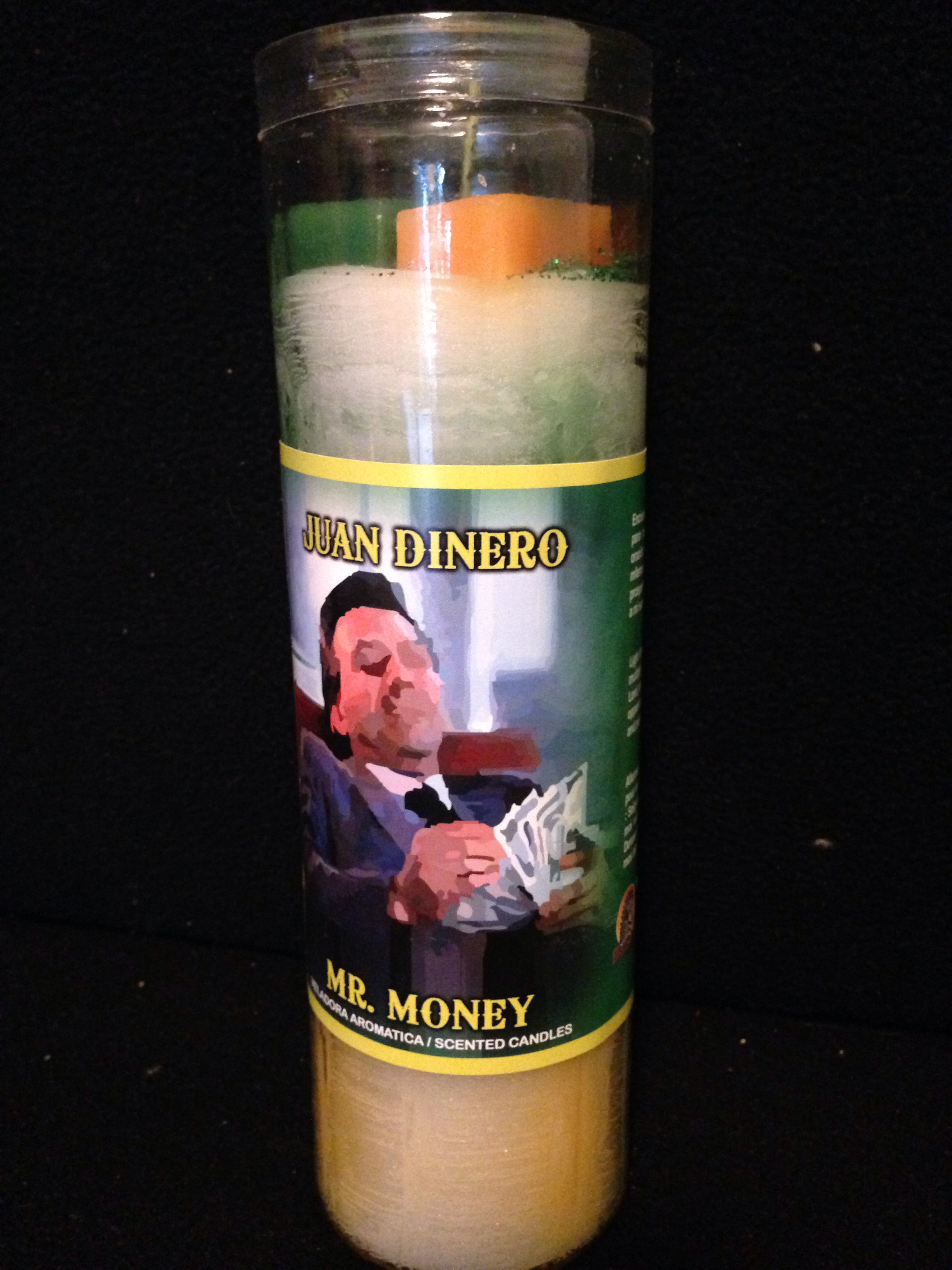 Mr Money Scanted Candle Dressed Candle Spiritual Candle ...