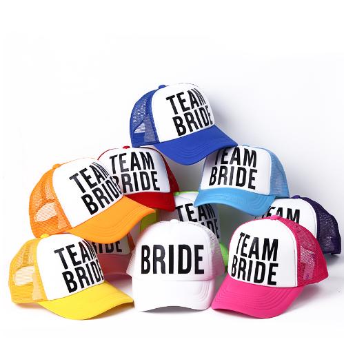 ceb199e3332ed Free DHL Shipping BRIDE   TEAM BRIDE Baseball Hats - Thumbnail ...