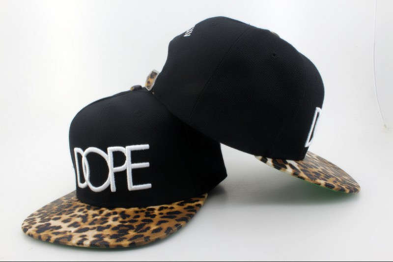Cheap dope snapback caps black leopard basebal hats top quality hot selling  freeshipping eee original d8b64100e14