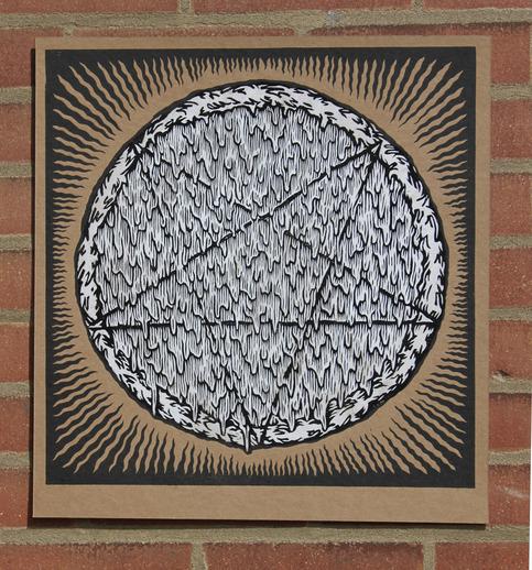 Pentagram Pizza Print On Storenvy