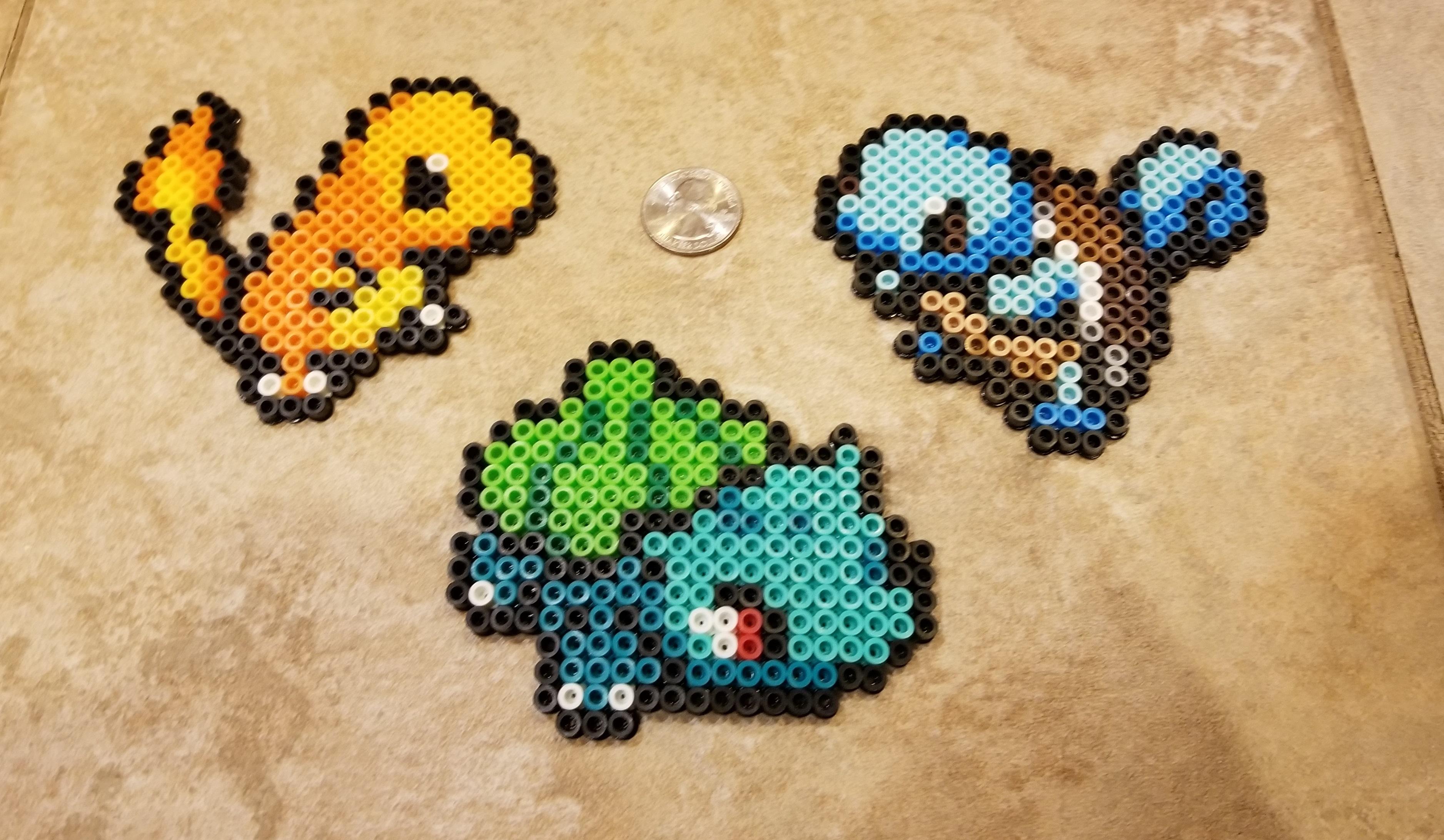 Perler Bead Kanto Pokemon Set