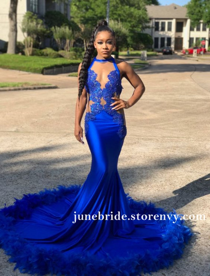 a2e27d10fff African Feather Prom Dresses 2019
