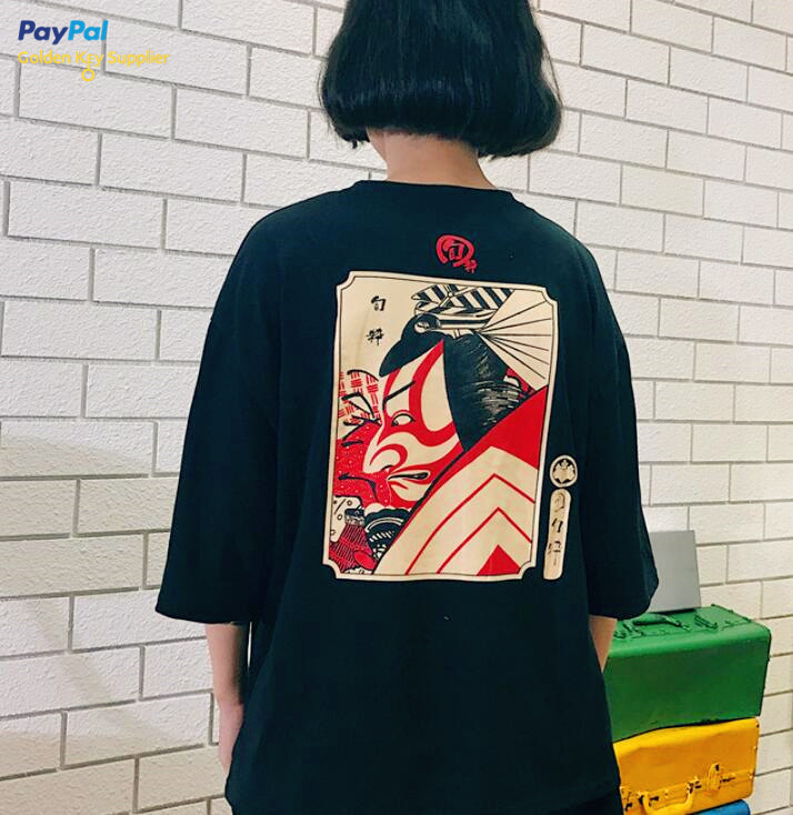 Free Shipping J-fashion Warrior T-shirt from Moooh!!