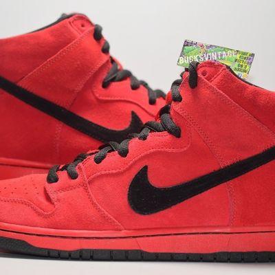 bd987be249 Size 10 | 2011 nike dunk sb red devil high 305050-600 sample og