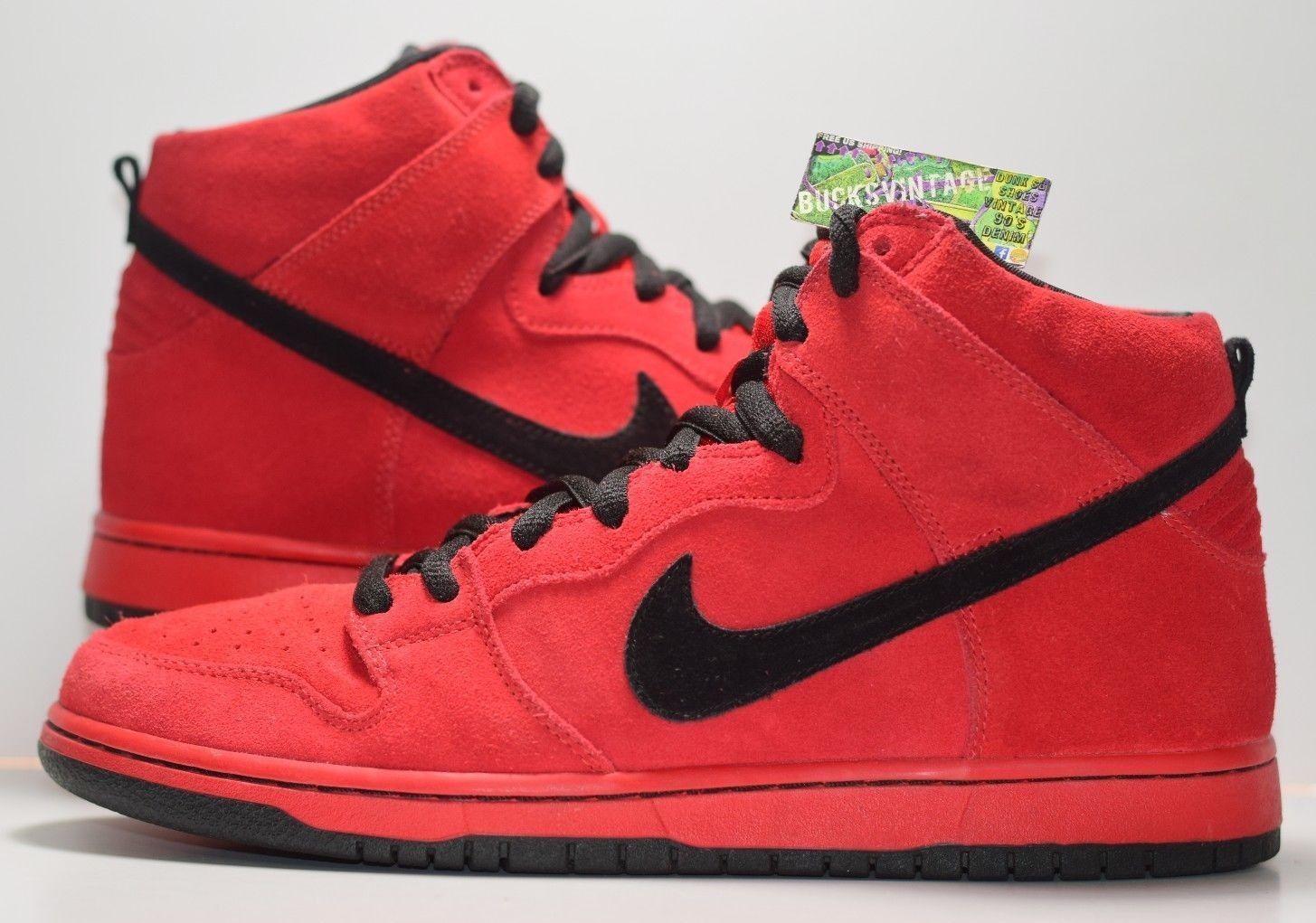 premium selection 24b2f 944f6 Size 10   2011 Nike Dunk SB Red Devil High 305050-600 sample og