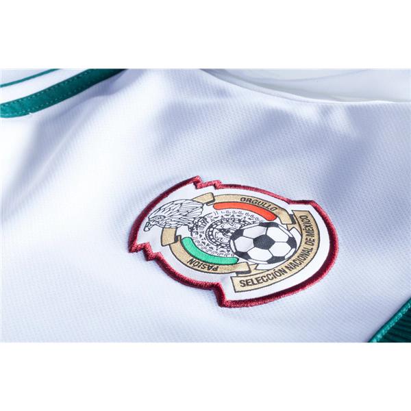 a65da4fe5f5 ... Raul Jimenez  9 Mexico Football Shirt 2018 National Team Away Stadium Soccer  Jersey White -