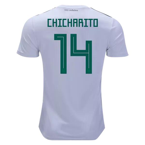 32a68075c Javier Hernandez  14 Mexico Football Shirt 2018 National Team Away ...