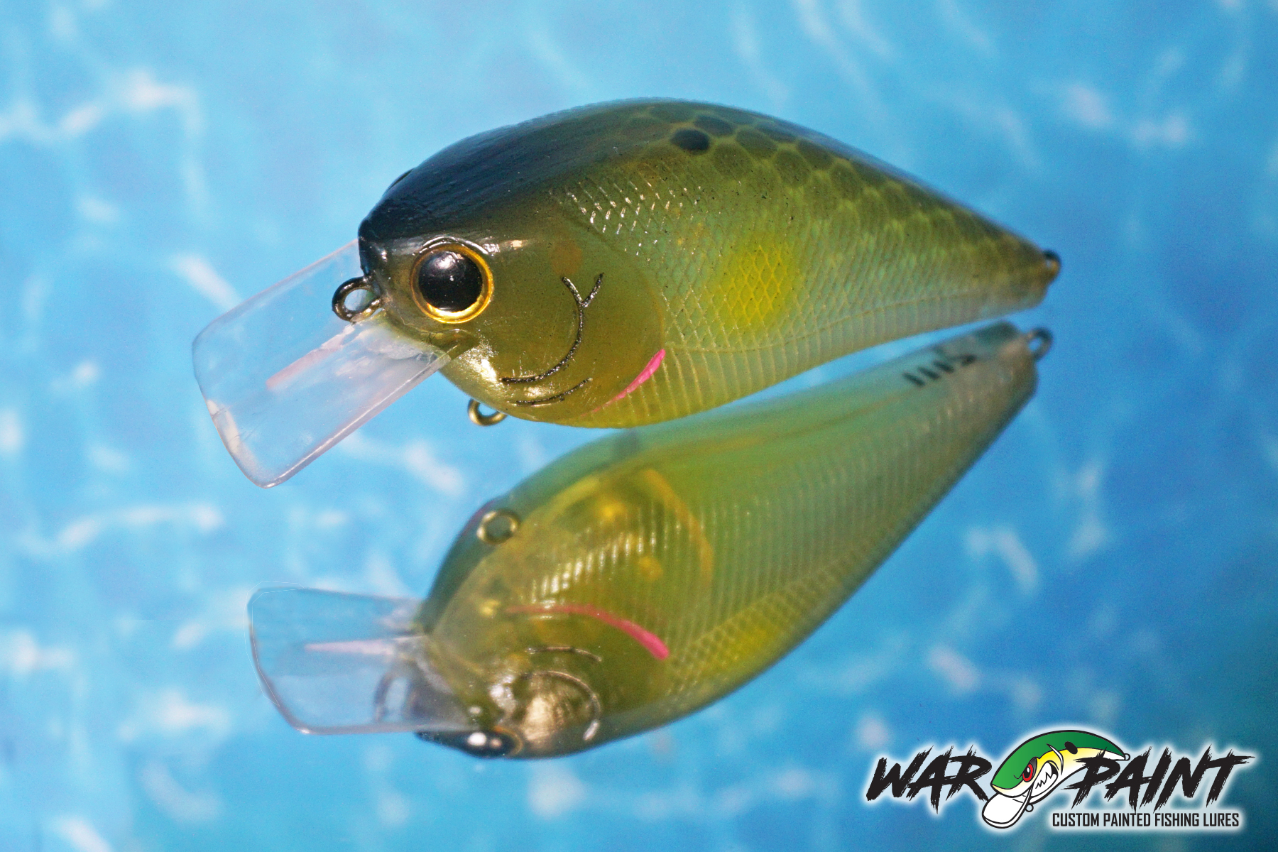 Ayu Clear from War Paint Custom Lures
