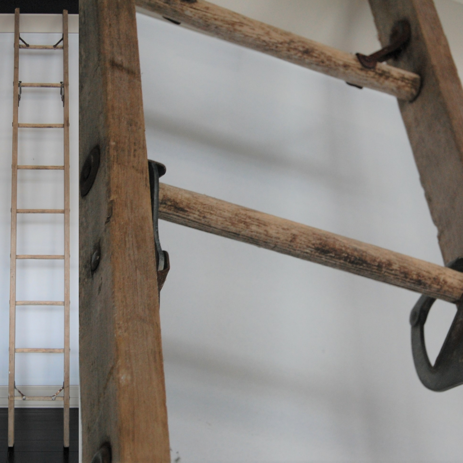 Old 10' Orchard Ladder from Marinus Home Seattle