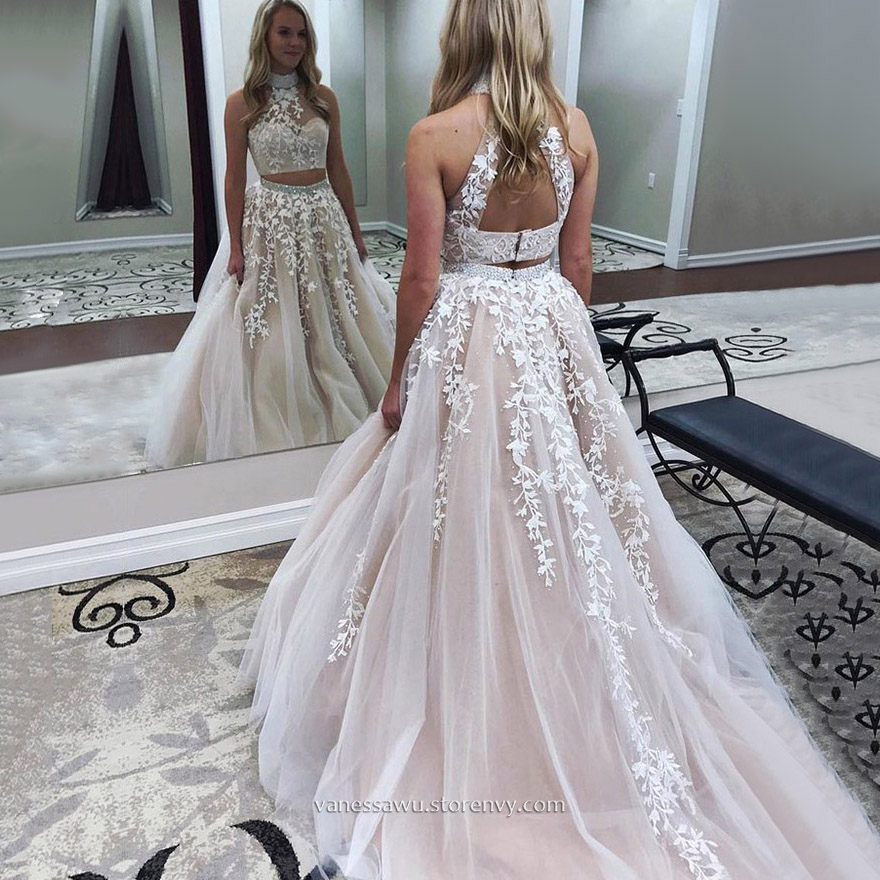 00fc5ef5a1 Two Piece Prom Dresses
