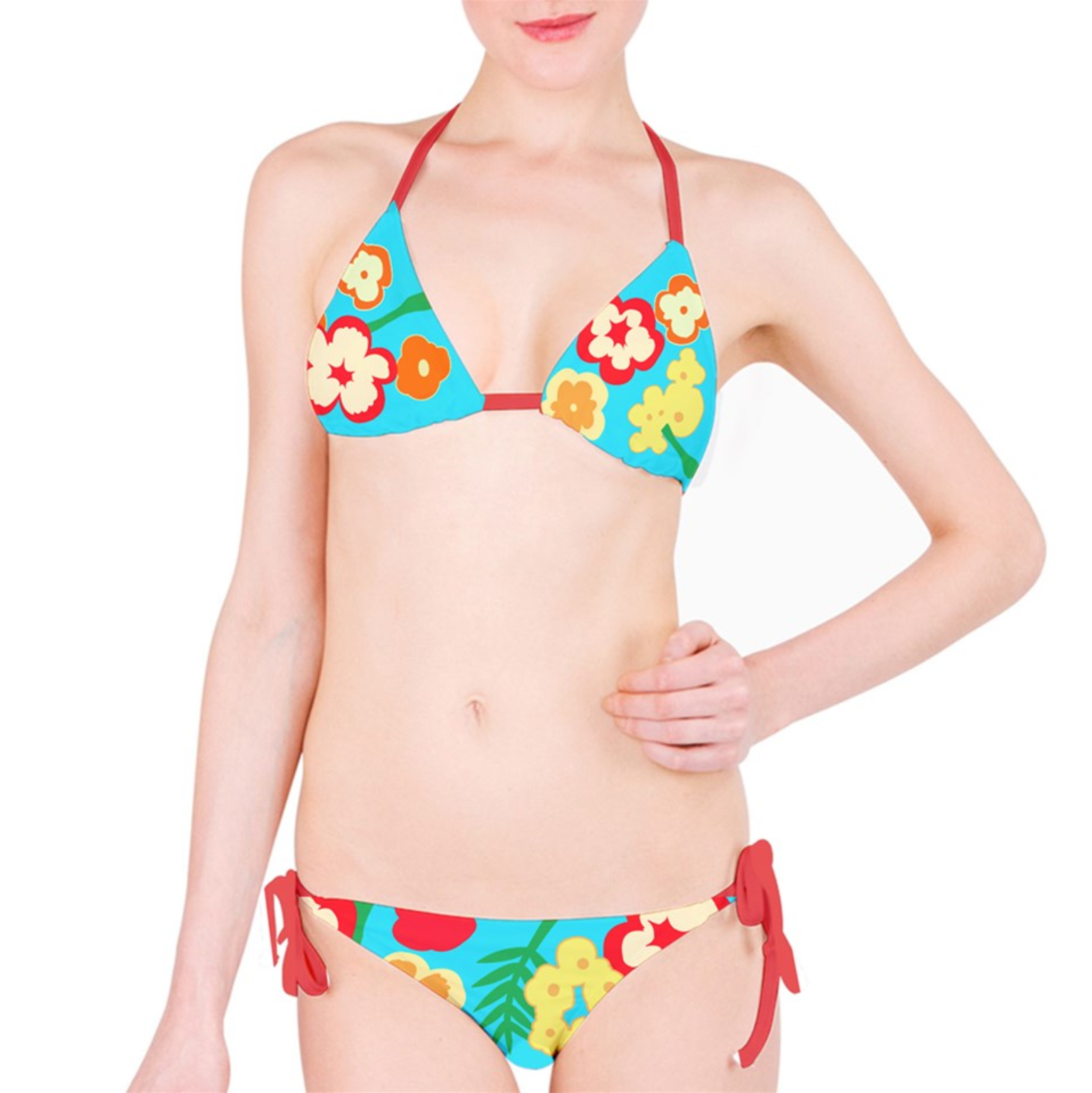 b9ede3f8e Ann Takamaki - Floral Print Bikini Set (Persona 5) on Storenvy