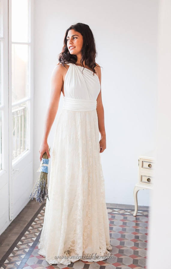 Casual Wedding Dress Bridal Gowns Boho Wedding Dress Lace Casual