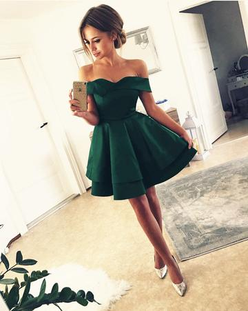 2c5941ee43cd Off Shoulder Homecoming Dresses