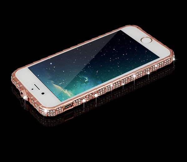 quality design 433b2 849fe Luxury Rhinestone frame phone cases for iphone x case glitter diamond cover  for iphone 6s 6 7 8 plus case 10 7plus coque from Super Cute