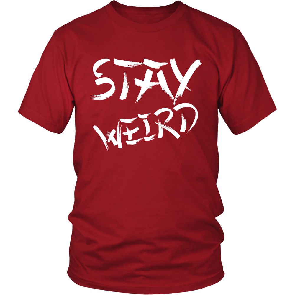 7264e945e ... Stay Weird Narwhal Men's Tee, Men's Graphic T-Shirt, Charcoal Gray,  Shirts ...