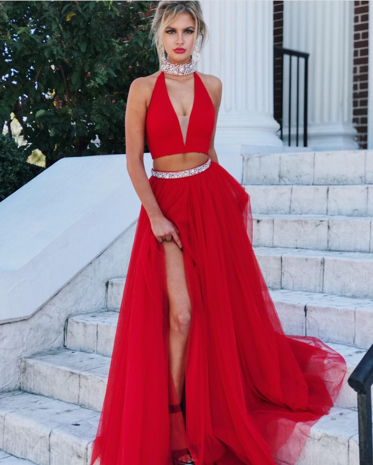 82ec182af6a Red Evening Gowns