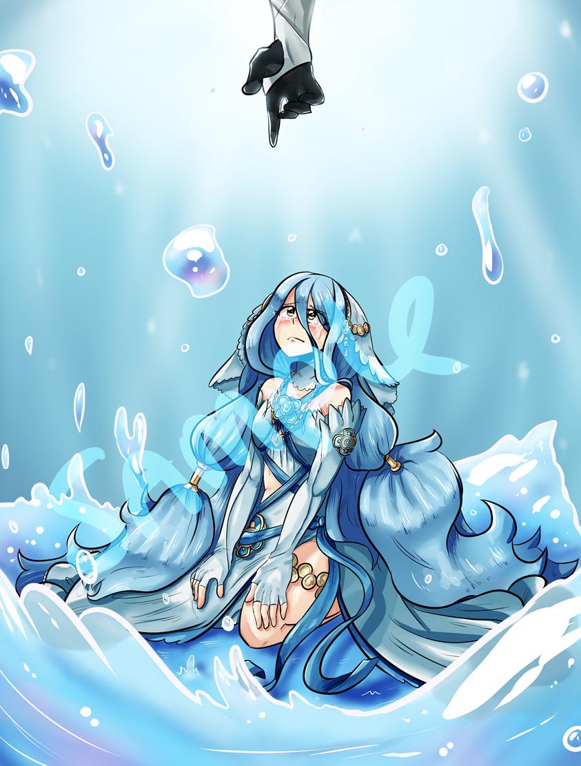 Fire Emblem Azura Print On Storenvy